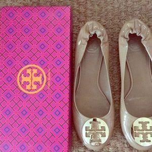 Tory Burch Patent Leather Reva